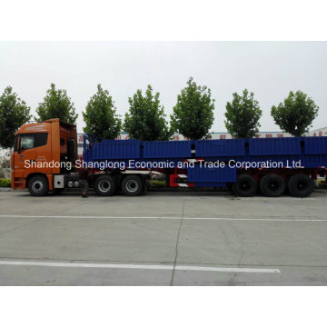 High Quality Side Wall Semi Trailer with 3 Axles