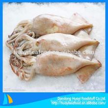 frozen new landing clean whole round baby squid