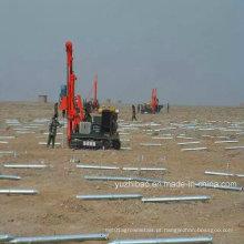Parafusos superficiais de montagem solar galvanizados de alto DIP
