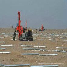 Hot DIP Galvanized Solar Montage des vis à la terre