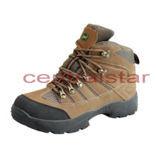 Fashion Mens Genuine Leather Outdoor Hiking Shoes (XD-130)