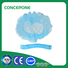 Disposable Nonwoven Surgical Cap, Mob Cap, Clip Cap