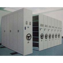 China que vende el gabinete de archivo de acero móvil Q235 de los sistemas de estantería de la biblioteca del metal