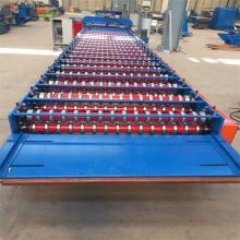 PPGI corrugated roofing roll forming machine