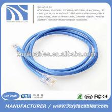 Cable caliente del LAN de la venta RJ45 para el establecimiento de una red