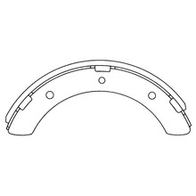 Mitsubishi Canter Fuso 4D31brake shoes MB060102