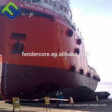 Easy install Marine Salvage Airbags For Floating Ship and Ship Launching