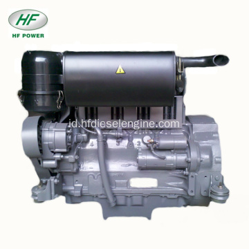 Air-Cooled Deutz 4-Silinder F4L912 Mesin Diesel