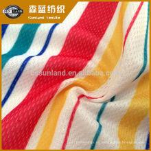 Tela de malla de nylon hecha punto impresión caliente del producto 2019