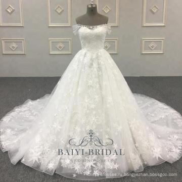 Последний Bridal Линия Оптом От Дизайн Плечо Свадебные Платья