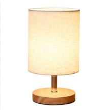 Деревянная настольная лампа Light