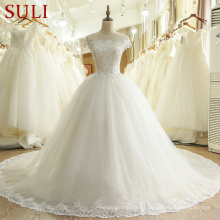 SL-436 Novo Alibaba Bridal China Custom Made Wedding Dress 2017
