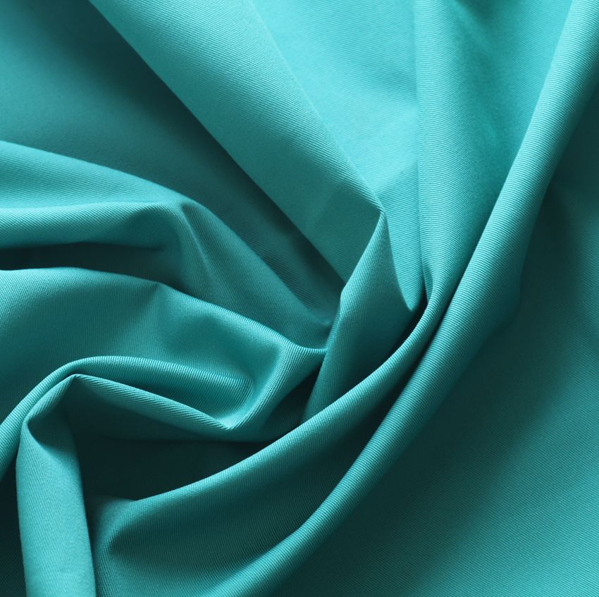 Dyed  fabric for garments