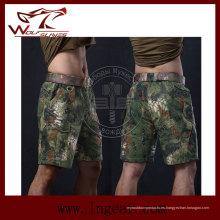Supervivencia al aire libre combate corto Airsoft pantalones