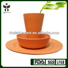 Набор посуды для кемпинга из переработанного фарфора