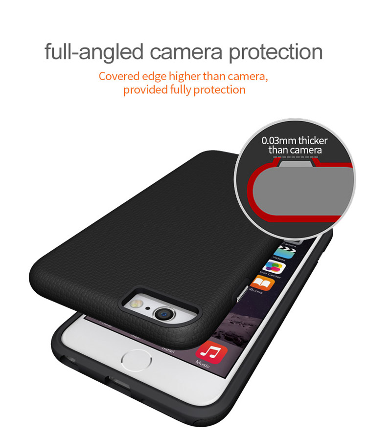 Hybrid Anti-skid Iphone6 Plus Phone Case