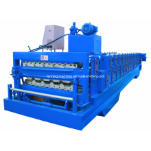 Double Layer Roof Panel Machine Double Layer Forming Machine Roll Forming Machine Double Layer Trapezoid Panel Machine Roll Forming Machine Corrugated Machine