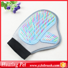 High Quality Industrial Factory for Offer Pet Bath Gloves,Pet Massager Glove,Pet Grooming Glove From China Manufacturer pet glove grooming mitt supply to Pitcairn Supplier