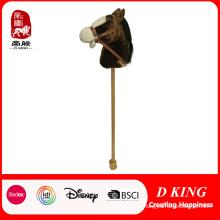 Cheval cheval bâton enfants tête cheval sur un bâton