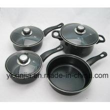 Utensilios de cocina de acero al carbono 7PCS Set para Brasil Wal-Mart