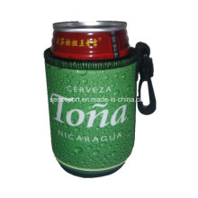 New Design Neoprene Can Cooler Koozie with Plastic Clip (SNCC45)