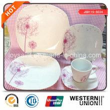 Ensemble de dîner en porcelaine Fine Design Fine 18PCS