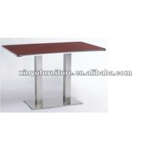 Mesa de jantar de restaurante moderna XT6945