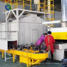 Línea de recubrimiento antiadherente de teflón de alta resistencia al calor