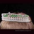 Coeur design rhinestone diadème de tiare couronne de cristal