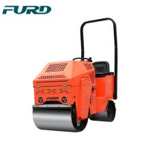 Mini apisonadora con dos tambores para maquinaria de construcción de carreteras FYL-860