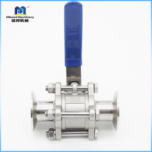 2 inches 3 PC Ball Valve Stainless Steel 304/316L TC Tri Clamp