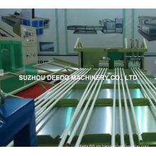 Máquina de pipa de plástico para maquinaria de extrusión de plástico