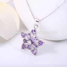 Unique star of david pendant,custom stone pendants