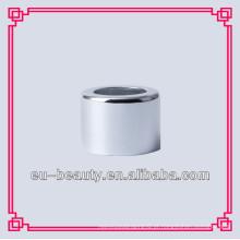 Colar de alumínio prateado brilhante de 18mm para garrafas