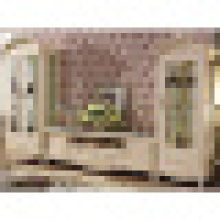 Stand de TV com armário de vinho para mobília da sala de estar (312)