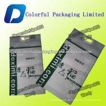 5KG MATT Reis-Verpackungstasche / Reistasche mit Griff und Reißverschluss