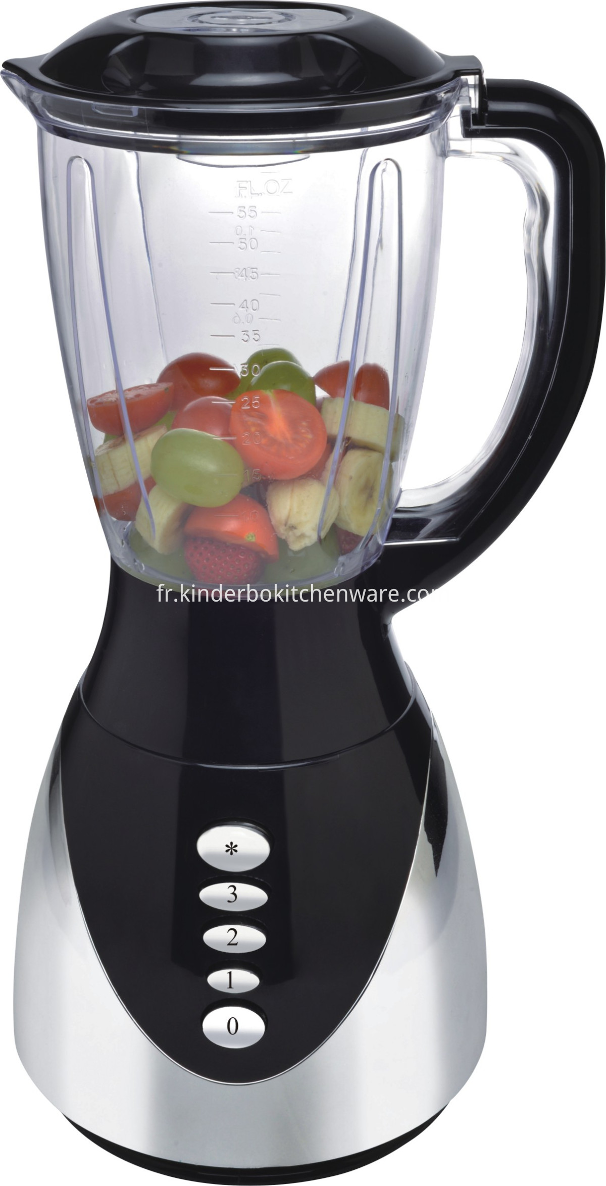 1.5L plastic juicer blender