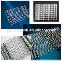 Malla de alambre decorativa de acero inoxidable de alta calidad