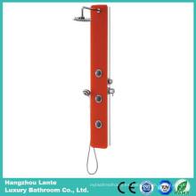 Columna de la ducha de cristal de la seguridad de la lluvia más nueva con el color rojo (LT-B735)