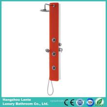 Colonne de douche de verre de sécurité la plus récente avec couleur rouge (LT-B735)