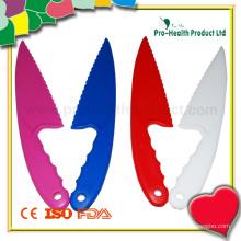 Одноразовый красочный пластиковый нож для торта (PH7021)
