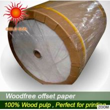 Bond Paper Roll for All Kinds of Packaging Products