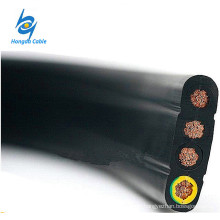 Flexible Flat Mining Trailing Cables TC Conductor Synthetic