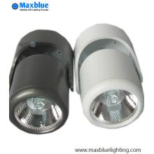10W rotação superfície montada COB LED teto lâmpada