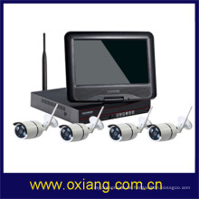 Sicherheitssystem 1080P Wireless NVR Kit kleinste drahtlose CCTV-Kamera