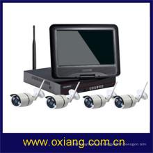 Sistema de segurança 1080 P Wireless NVR Kit menor câmera de cctv sem fio