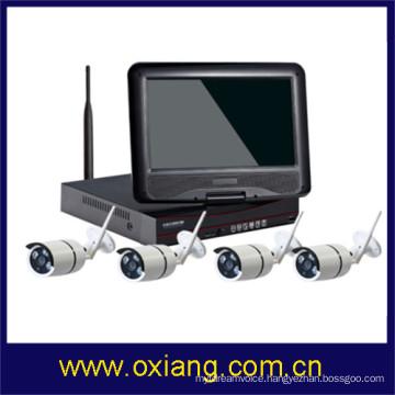 Security system 1080P Wireless NVR Kit smallest wireless cctv camera