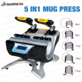 Freesub 5 in 1 mug printing machine, sublimation mug machine