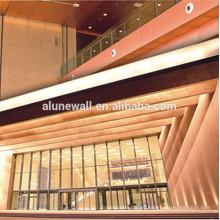 Hecho en china 4mm 3mm 5mm 6mm 8mm paneles de pared compuestos de cobre decorativos