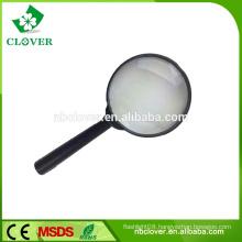 Good quality black color portable plastic magnifier